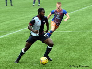 In friendly action v Queens Park....